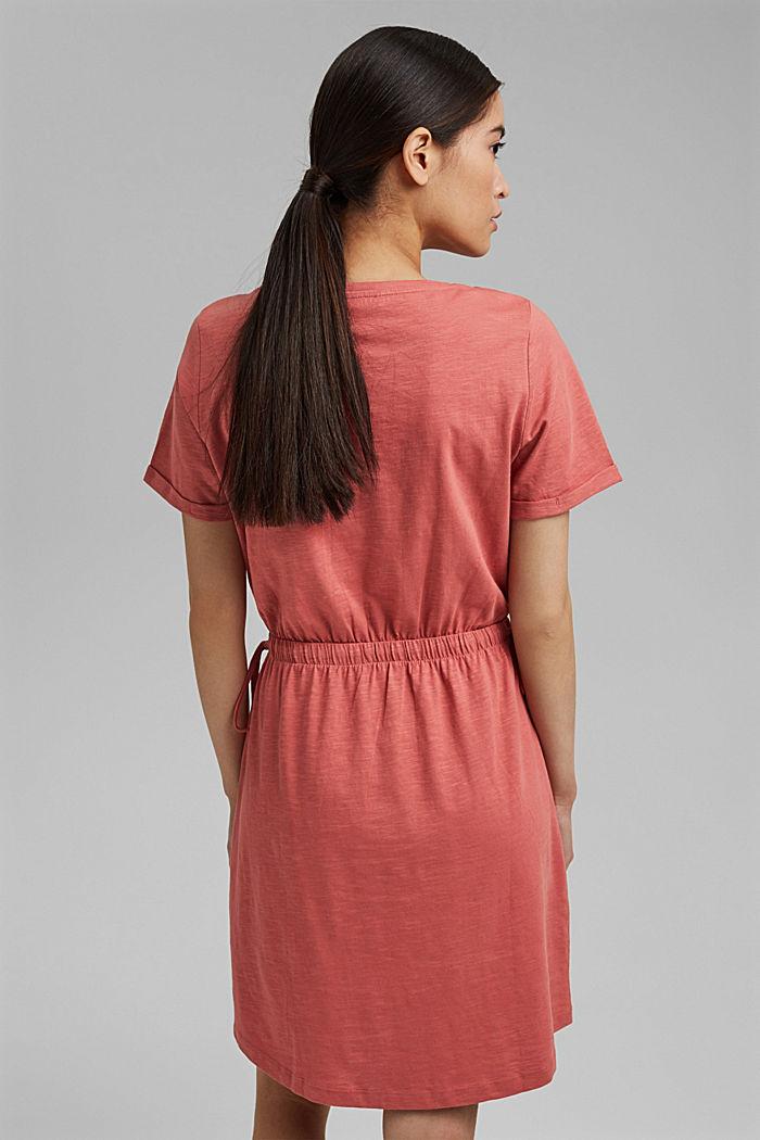 Jerseykleid aus 100% Organic Cotton, BLUSH, detail image number 2