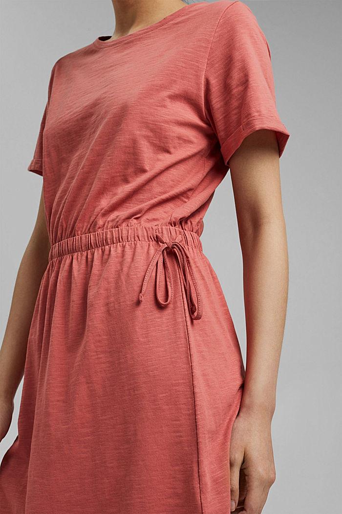 Jerseykleid aus 100% Organic Cotton, BLUSH, detail image number 3