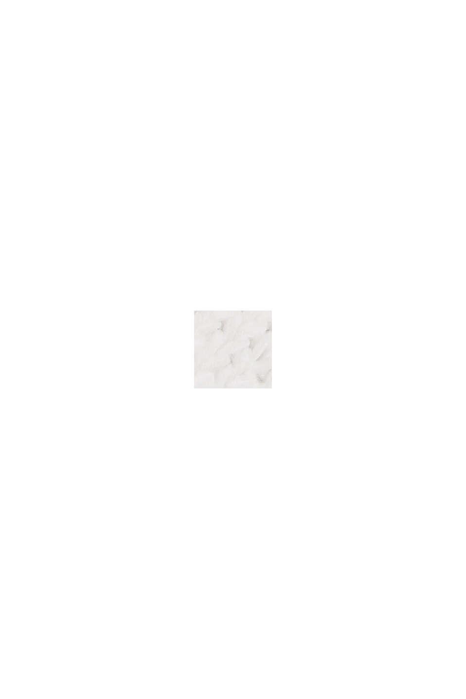 Débardeur à rayures en fil ruban, OFF WHITE, swatch