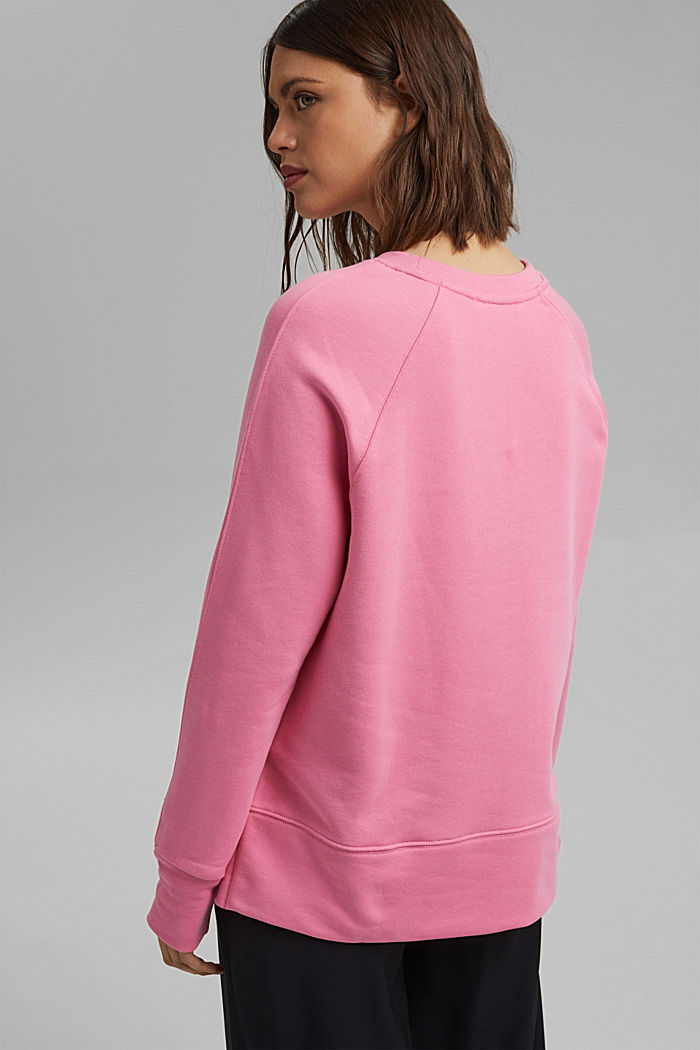 Sweatshirt aus 100% Baumwolle, PINK, detail image number 3