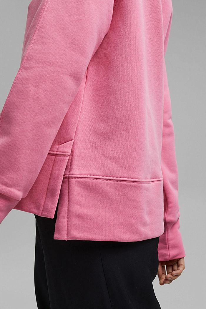 Sweatshirt aus 100% Baumwolle, PINK, detail image number 2