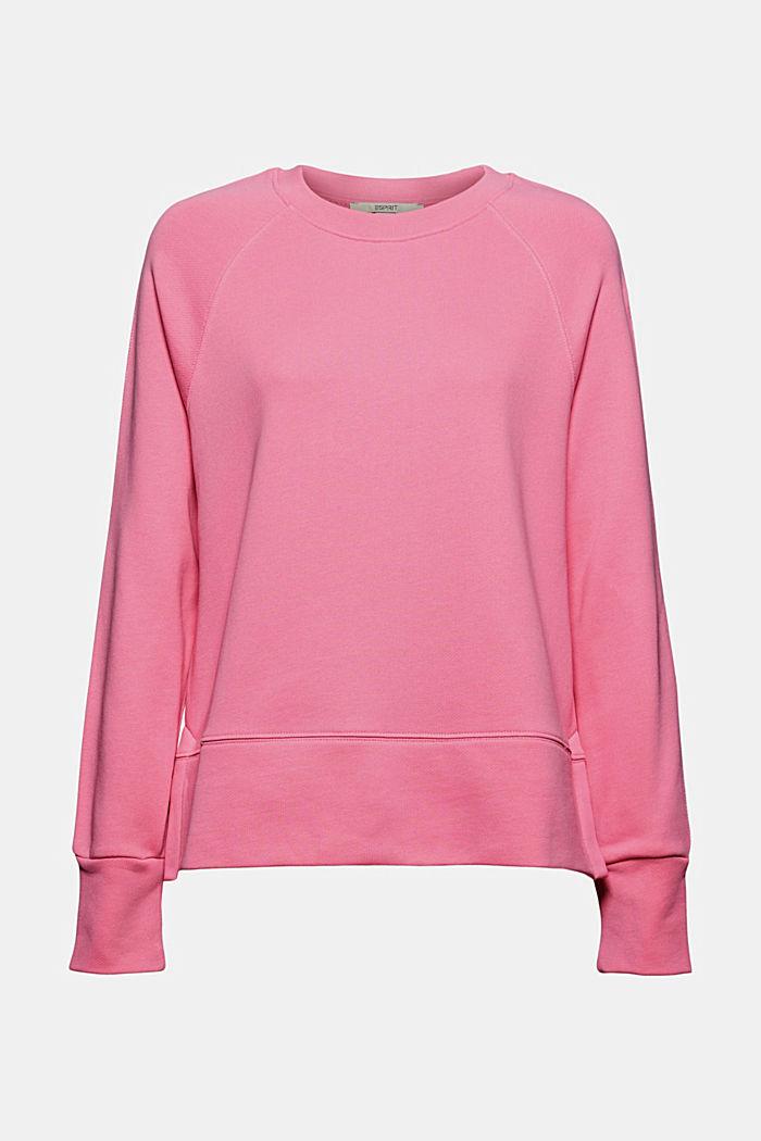 Sweatshirt i 100% bomull