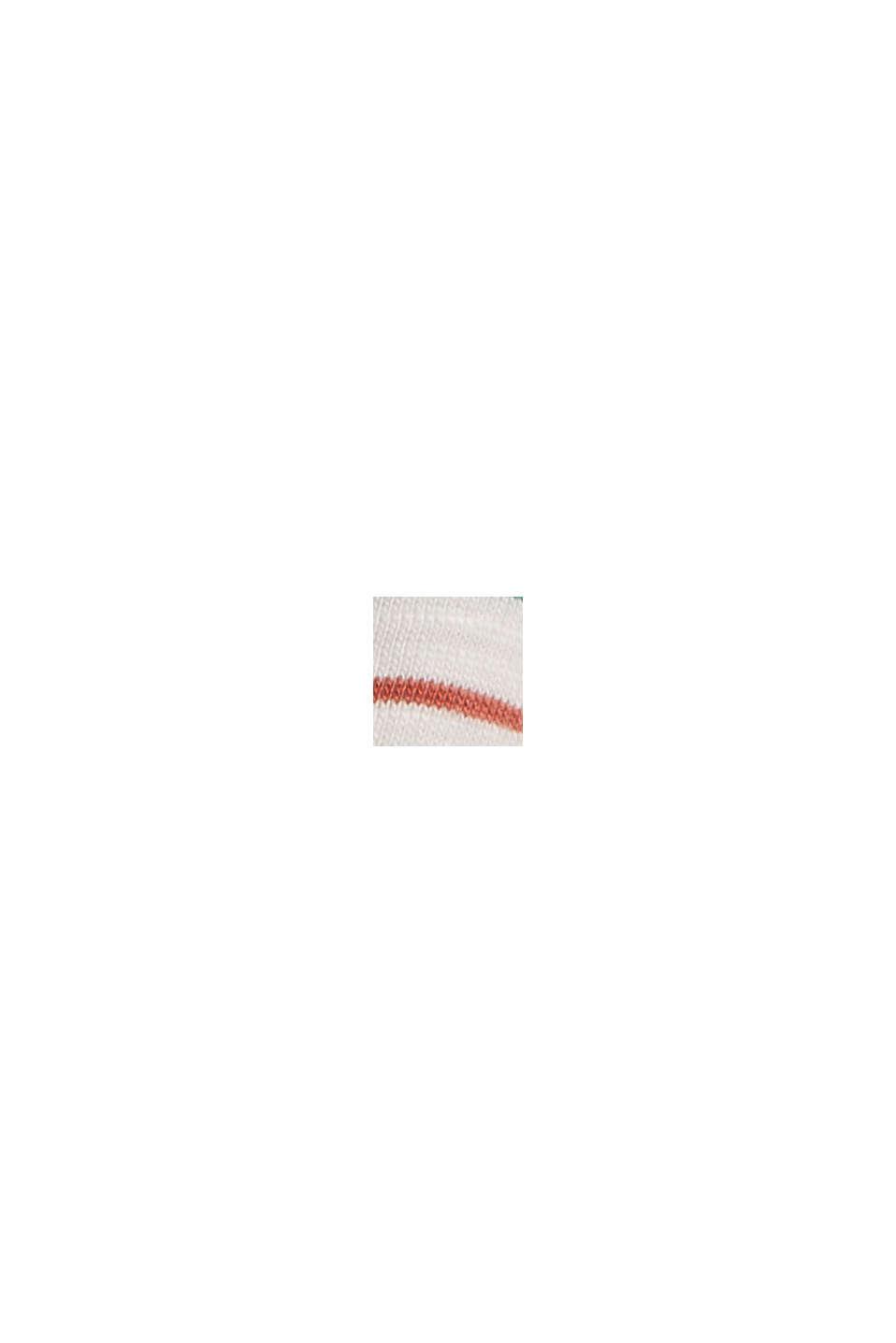 Streifen-Shirt aus Bio-Baumwolle/TENCEL™, OFF WHITE, swatch