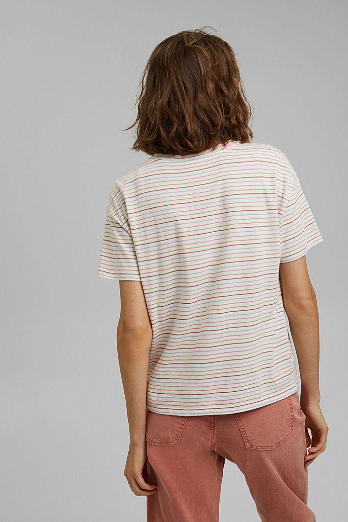 Streifen-Shirt aus Bio-Baumwolle/TENCEL™, NEW OFF WHITE, detail image number 3