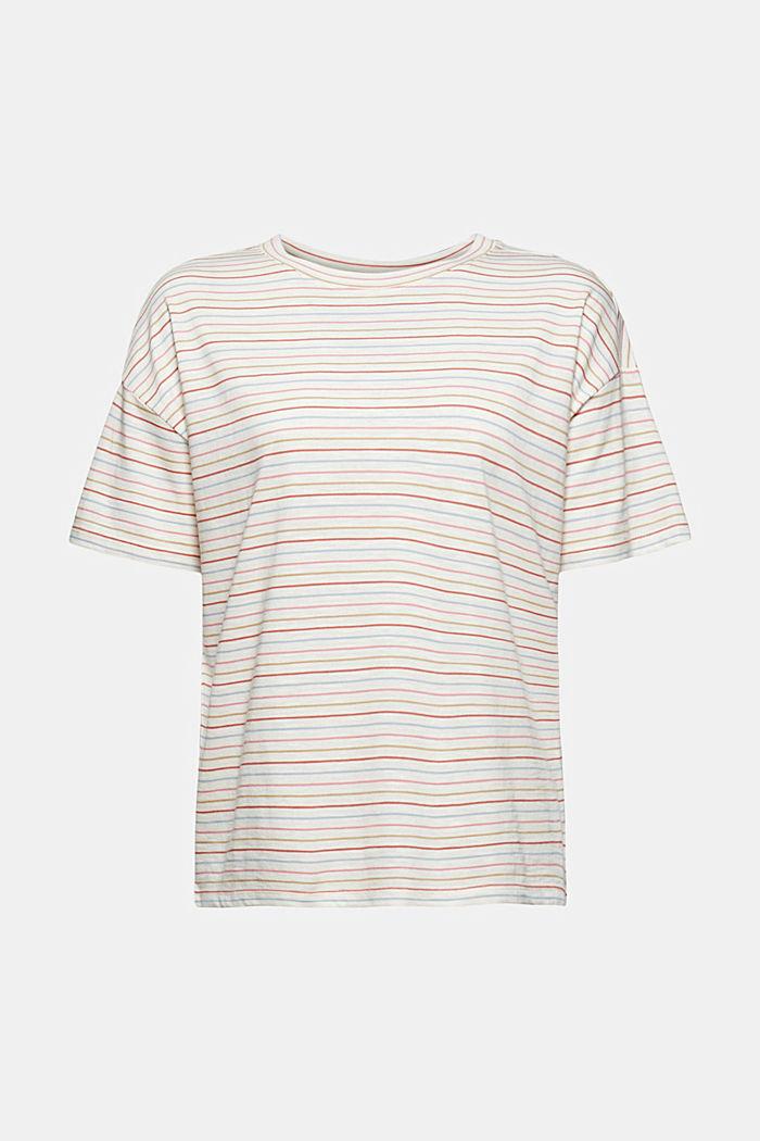 Streifen-Shirt aus Bio-Baumwolle/TENCEL™, NEW OFF WHITE, detail image number 5