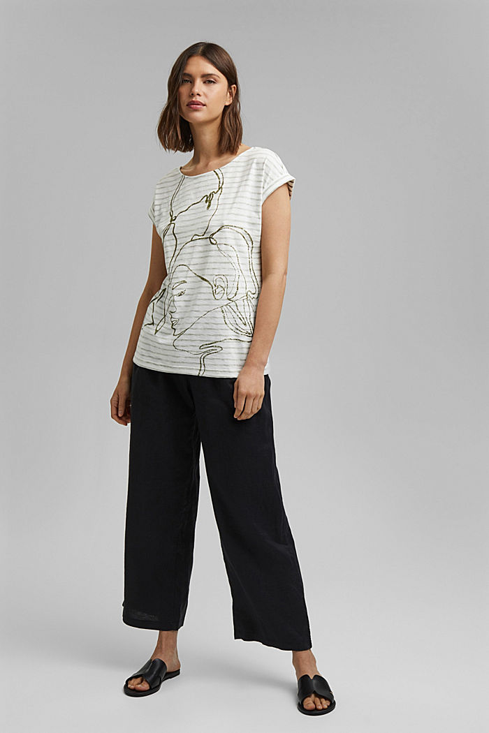 Printed T-shirt, 100% organic cotton, NEW OFF WHITE, detail image number 1