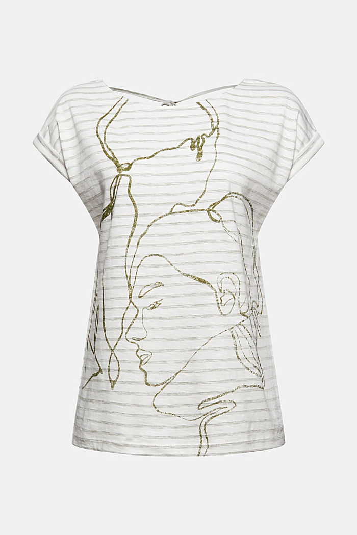 Printed T-shirt, 100% organic cotton, NEW OFF WHITE, detail image number 6