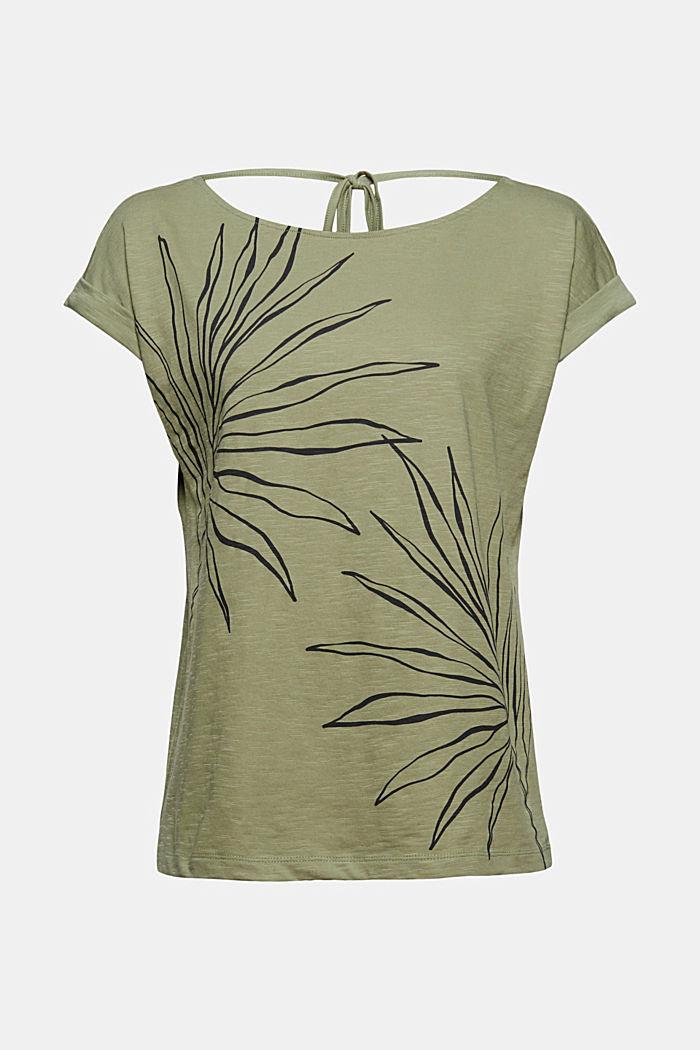 T-shirt med tryck, 100% ekologisk bomull