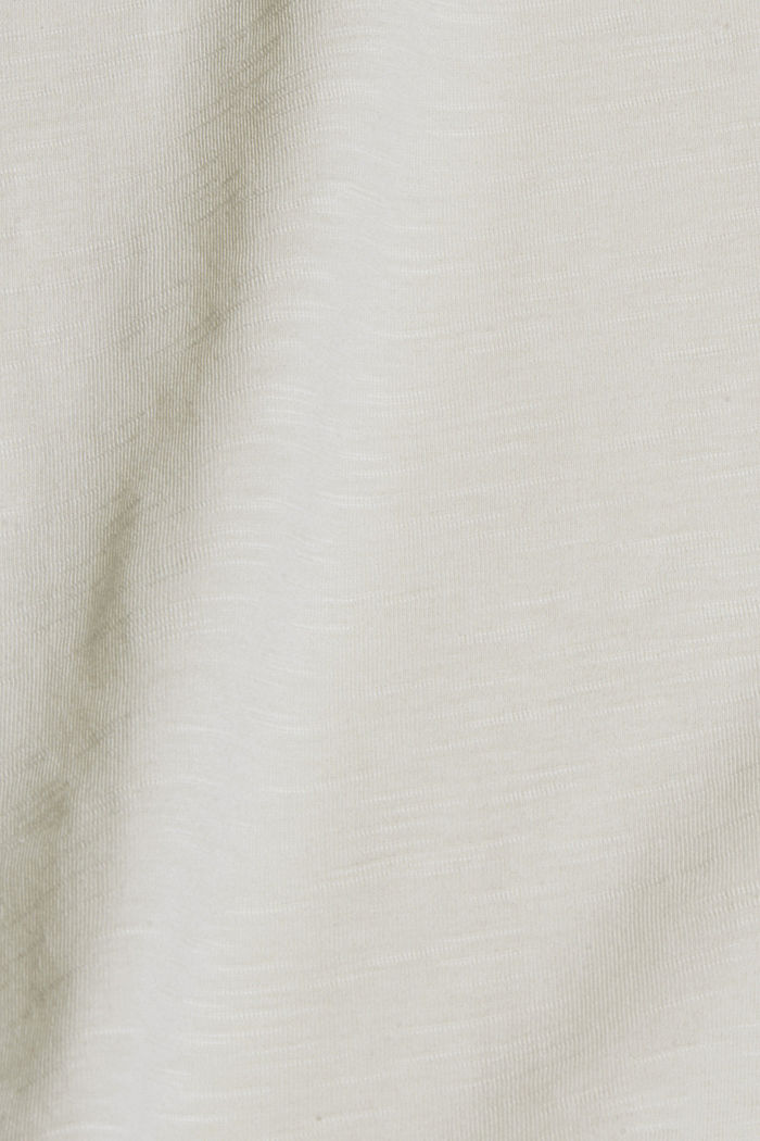 T-Shirt mit Print aus Organic Cotton, OFF WHITE, detail image number 4