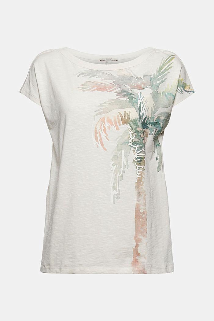 T-shirt med tryck, ekologisk bomull
