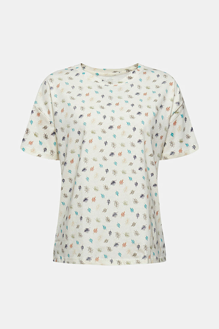 Printed T-shirt made of 100% organic cotton