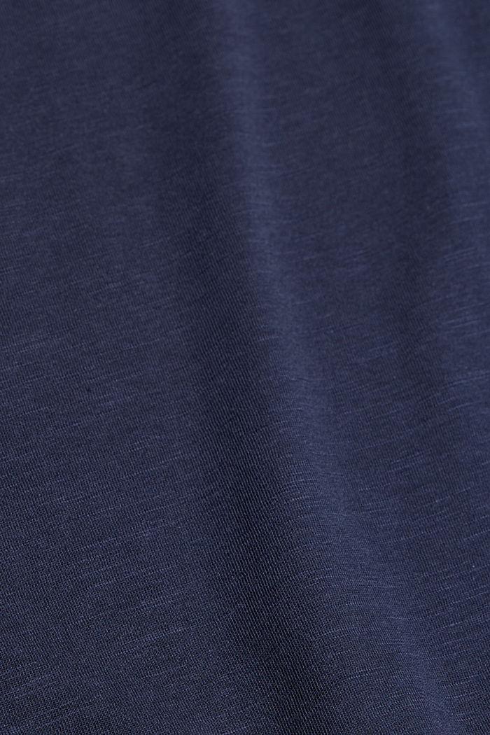 Tričko ve vrstveném vzhledu, směs bio bavlny, NAVY, detail image number 4