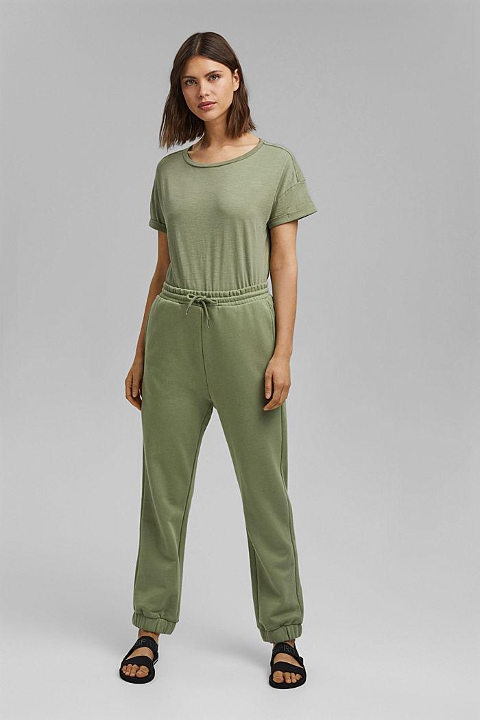 Tričko ze 100% bio bavlny, LIGHT KHAKI, detail image number 1