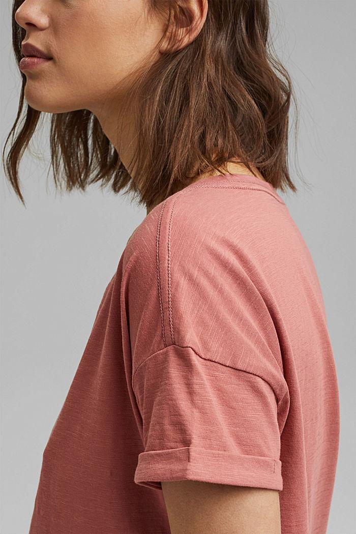 T-shirt made of 100% organic cotton, BLUSH, detail image number 2