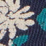 T-shirt z nadrukiem, 100% bawełny ekologicznej, NAVY BLUE, swatch