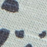T-shirt van organic cotton met print, TURQUOISE, swatch