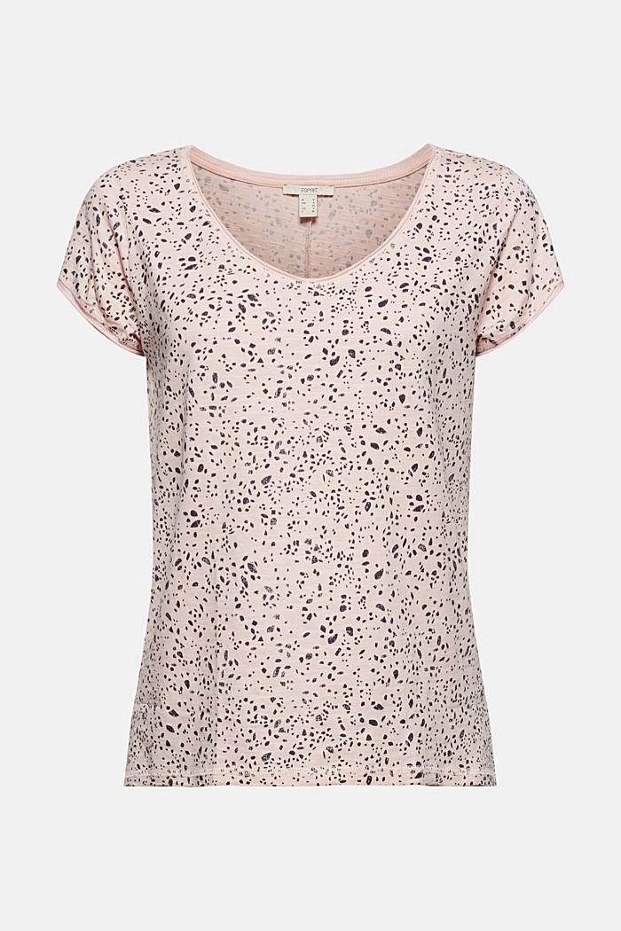 Tričko s potiskem, z bio bavlny, NUDE, detail image number 7
