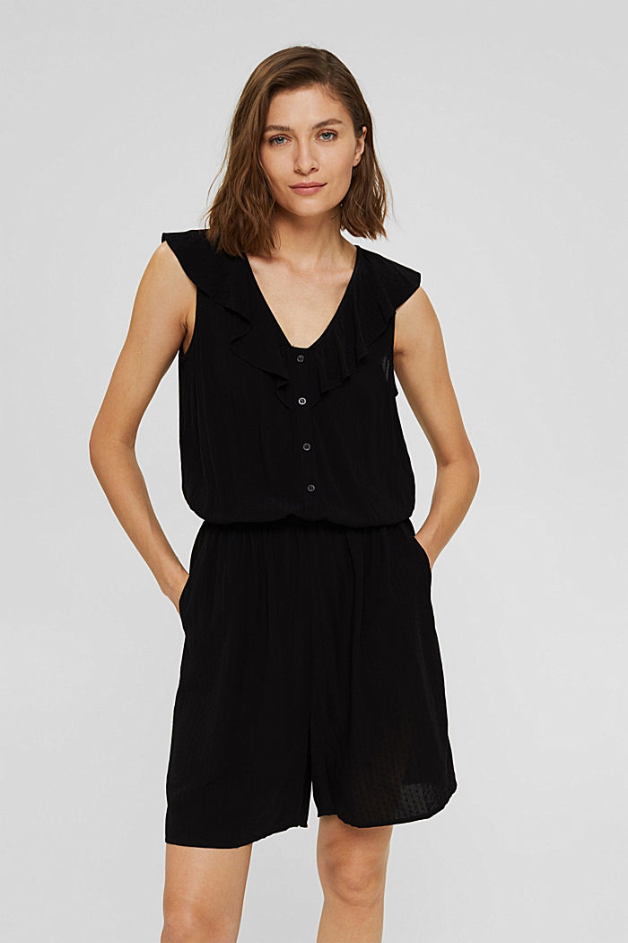 Overalls woven