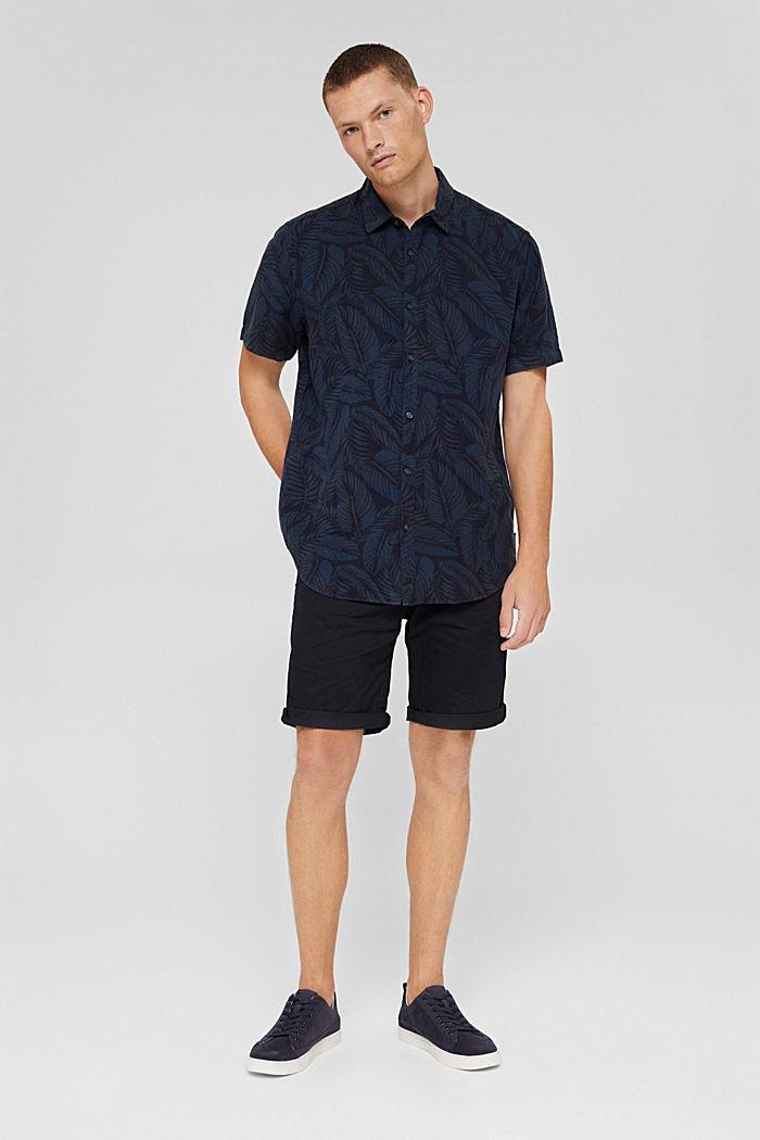 Shorts de algodón ecológico, BLACK, detail image number 1