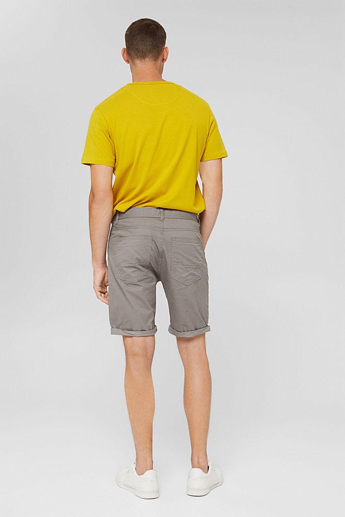 Shorts aus Organic Cotton, GREY, detail image number 3