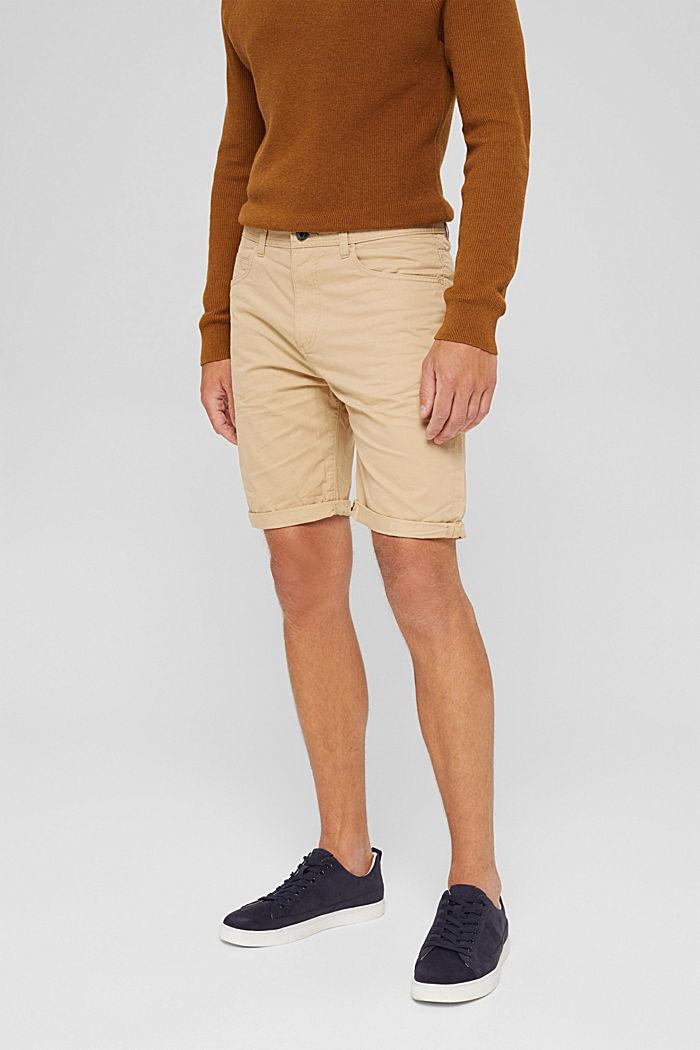 Shorts in cotone biologico