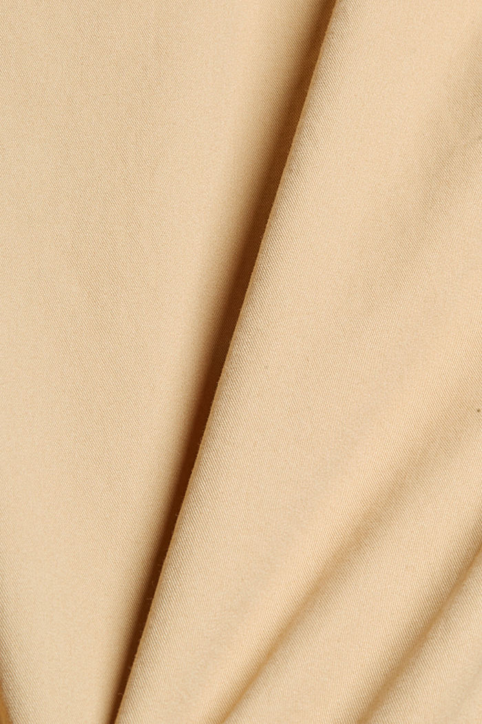 Shorts in organic cotton, BEIGE, detail image number 4