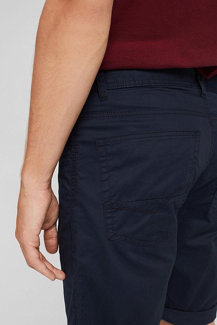 Shorts in organic cotton, DARK BLUE, detail image number 5