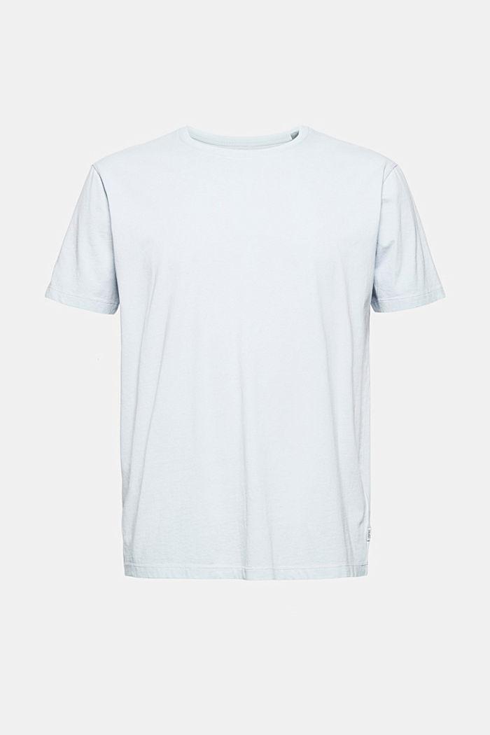 Jersey-Shirt mit Pigmentfärbung, Bio-Baumwolle, GREY BLUE, detail image number 6
