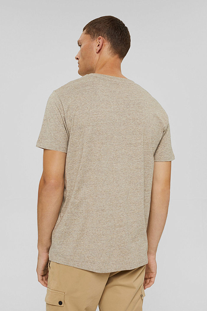 Jersey-T-Shirt aus Organic Cotton, BEIGE, detail image number 3
