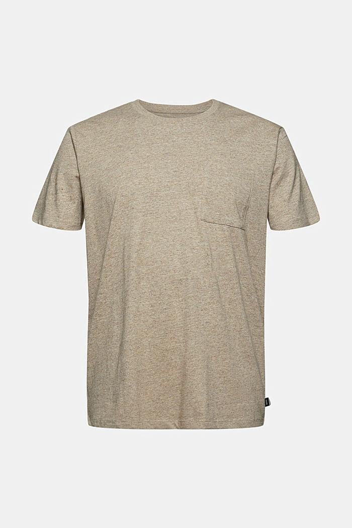 T-shirt en jersey de coton biologique