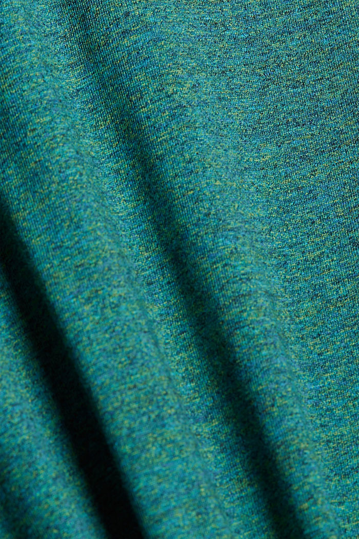 Jersey T-shirt made of organic cotton, TEAL GREEN, detail image number 4