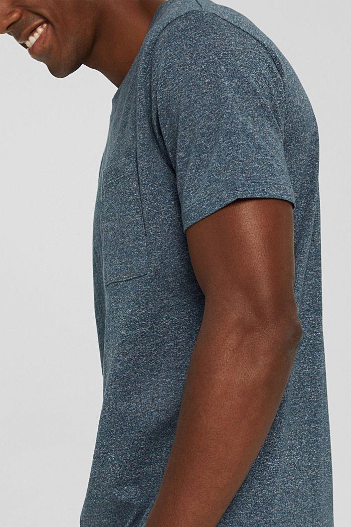 Jersey-T-Shirt aus Organic Cotton, BLUE, detail image number 1