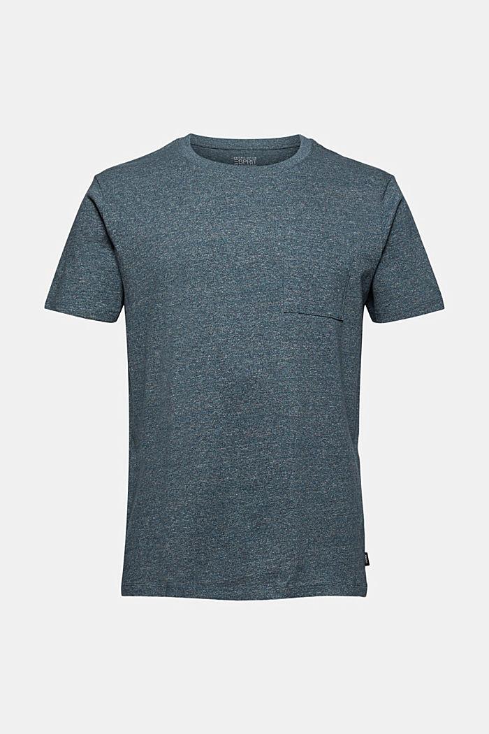 Jersey-T-Shirt aus Organic Cotton, BLUE, detail image number 6