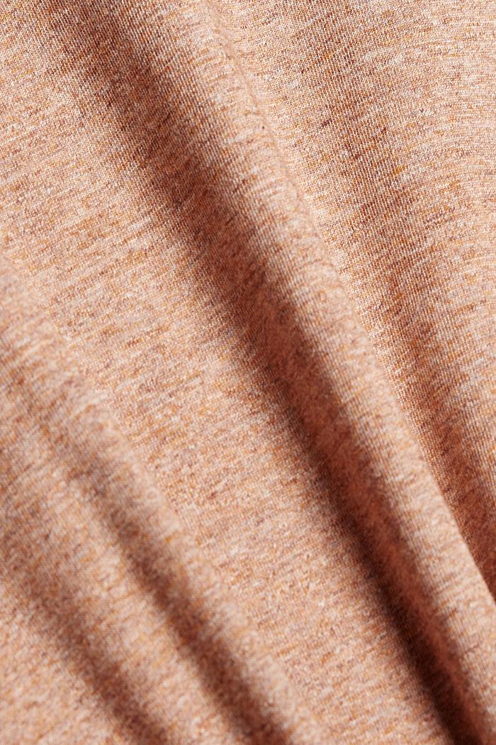 Jersey-T-Shirt aus Organic Cotton, ORANGE, detail image number 5