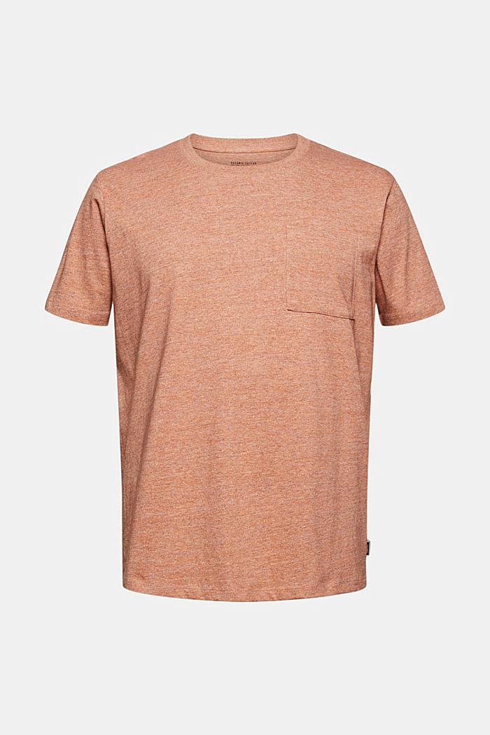 Jersey-T-Shirt aus Organic Cotton, ORANGE, detail image number 6