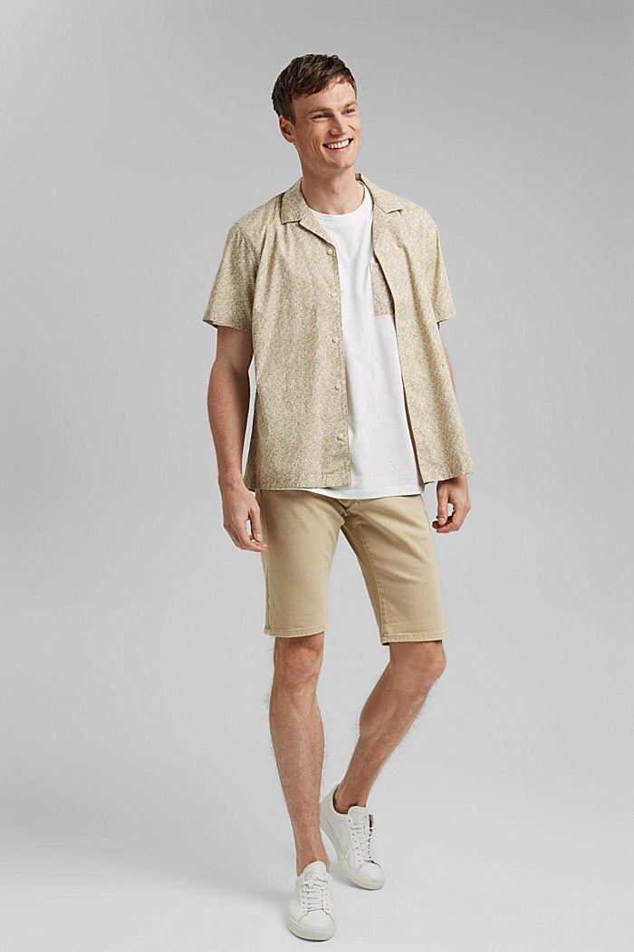 Jersey T-Shirt mit Tasche, 100% Bio-Baumwolle, OFF WHITE, detail image number 2