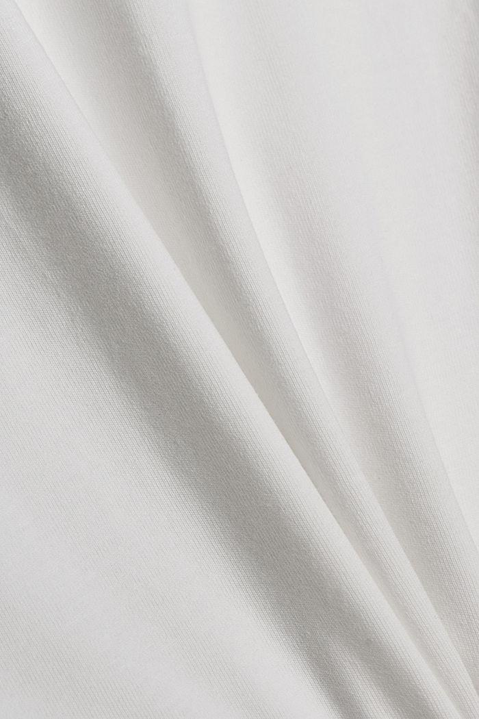Jersey T-Shirt mit Tasche, 100% Bio-Baumwolle, OFF WHITE, detail image number 4