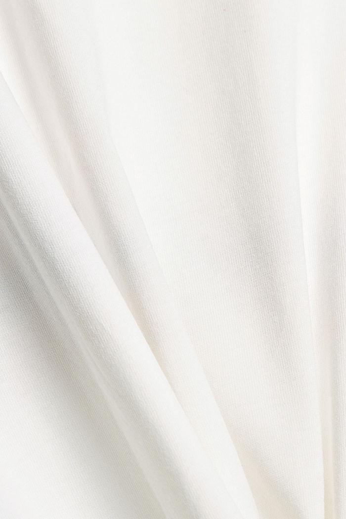 T-shirt en jersey doté d´un imprimé, 100% coton bio, OFF WHITE, detail image number 4