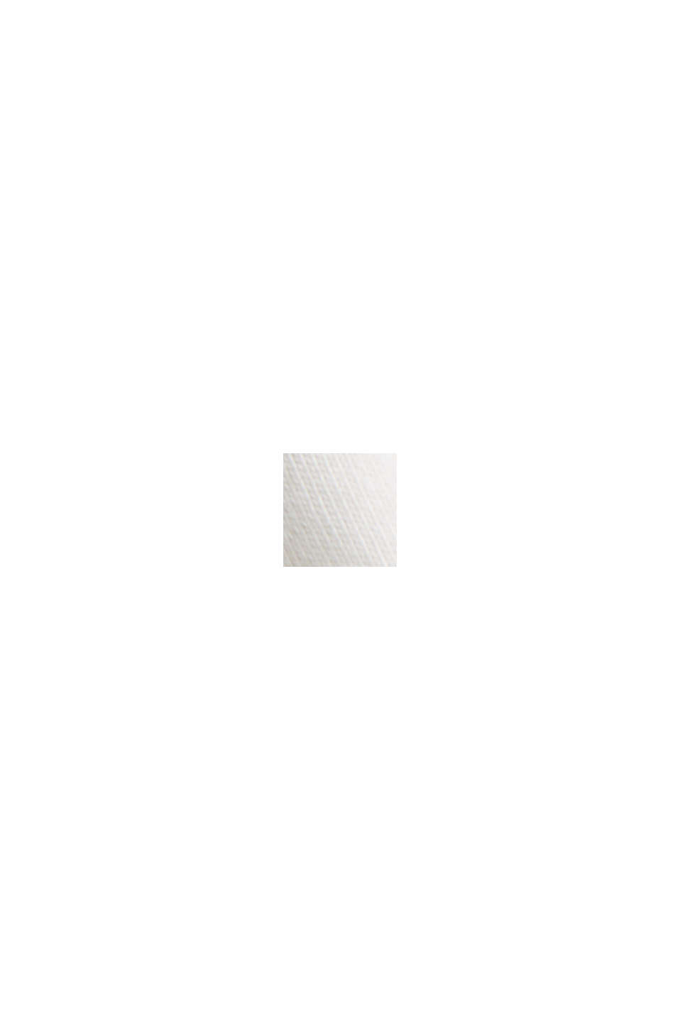 Printtikuvioitu jersey-t-paita, 100 % luomupuuvillaa, OFF WHITE, swatch