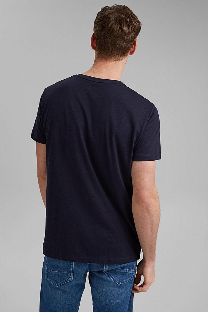 T-shirt en jersey doté d´un imprimé, 100% coton bio, NAVY, detail image number 3