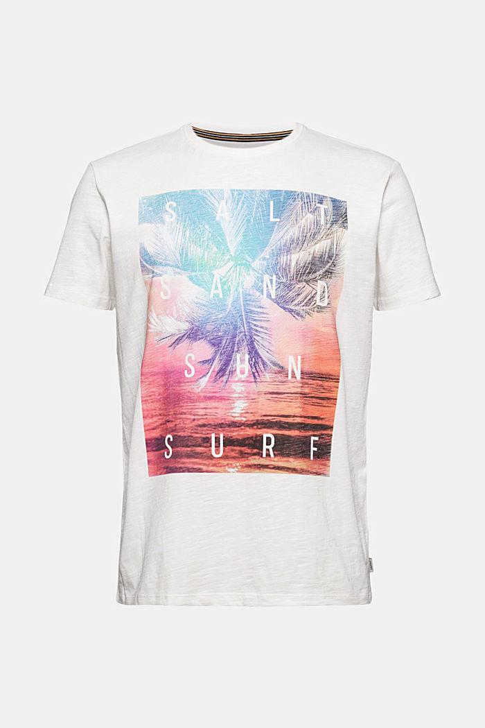 Printtikuvioitu jersey-t-paita, 100 % luomupuuvillaa