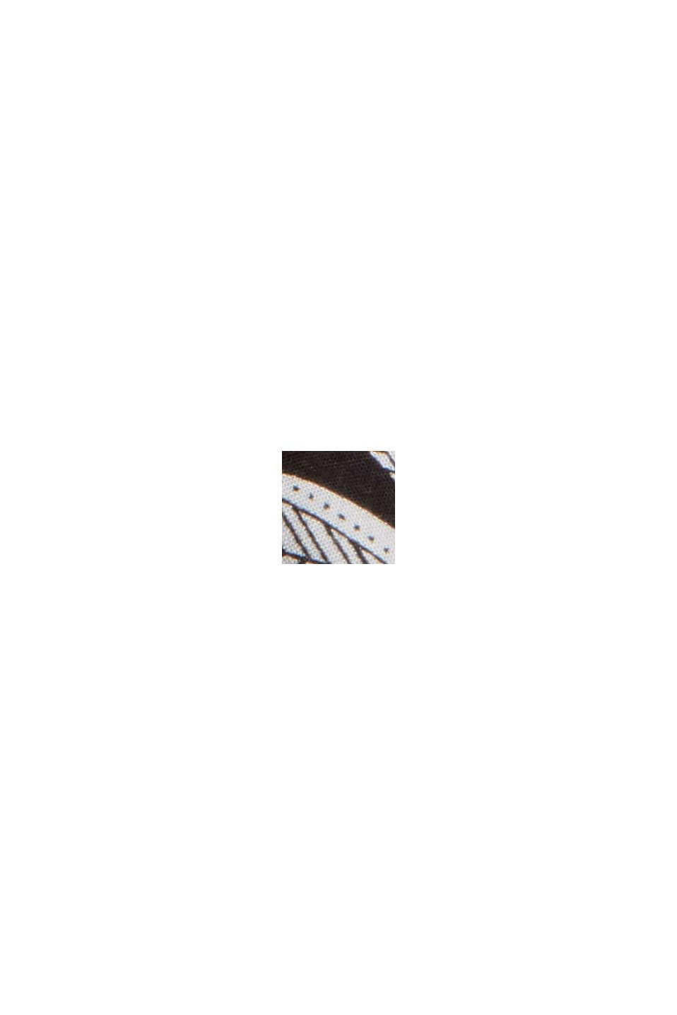 Pyjamabroek met ginkgoprint, LENZING™ ECOVERO™, BLACK, swatch