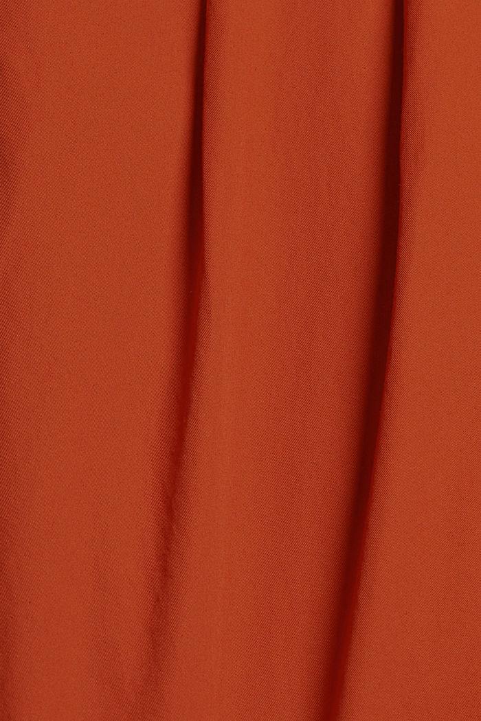 Nilkkapituiset chinot 100 % puuvillaa, TERRACOTTA, detail image number 4