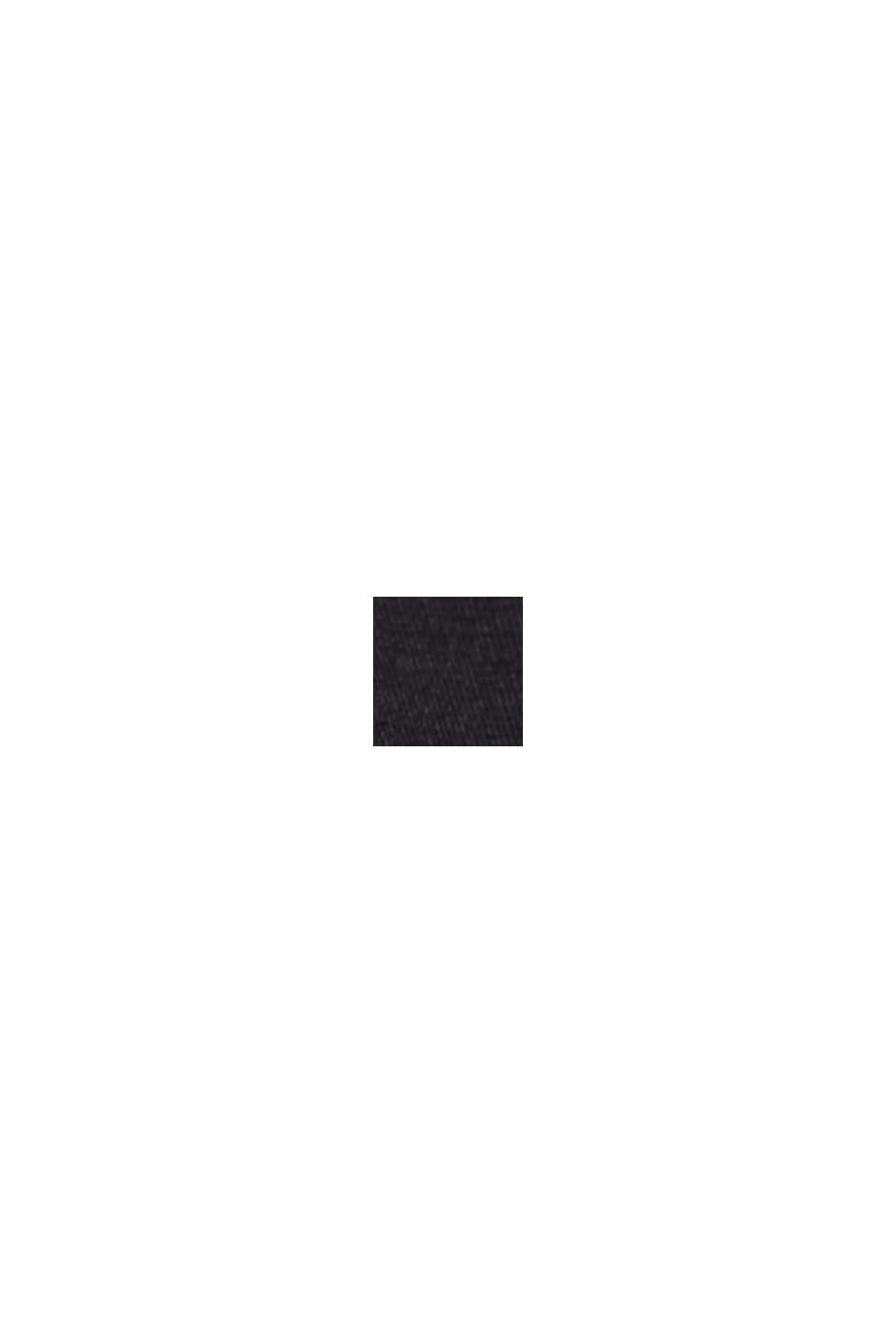 Böljande culottebyxa med LENZING™ ECOVERO™, BLACK, swatch