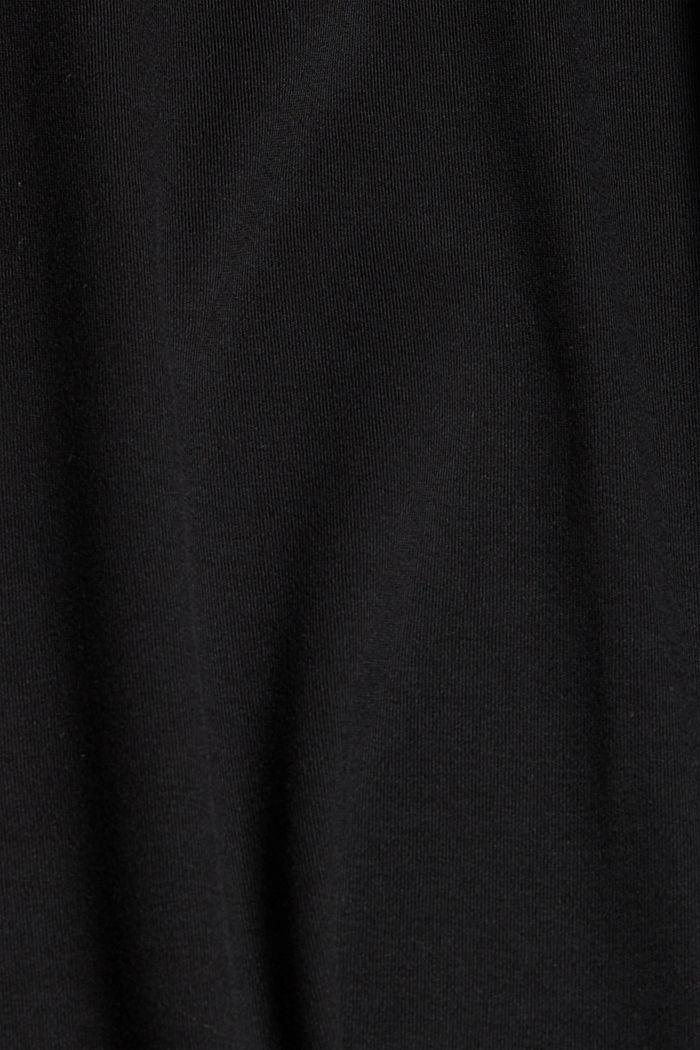 Made of TENCEL™: jersey midi skirt, BLACK, detail image number 4