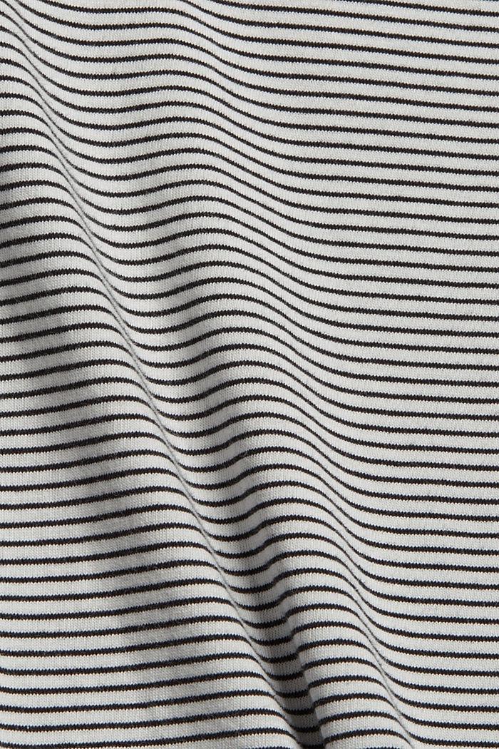 Jerseykleid mit Schulterpolstern, OFF WHITE, detail image number 4