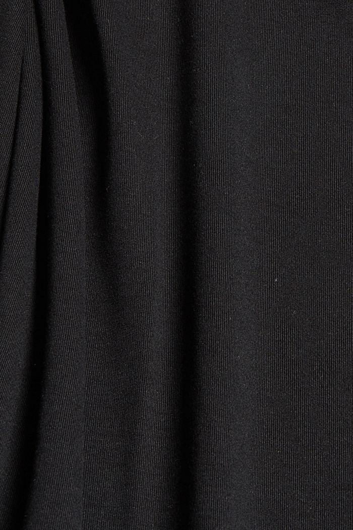 Aus TENCEL™: Jerseykleid mit Rückenausschnitt, BLACK, detail image number 4