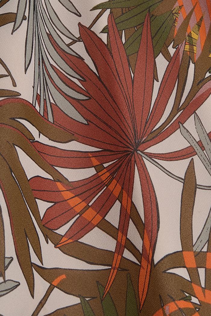 Halterneck maxi dress with botanical print, LIGHT PINK, detail image number 4