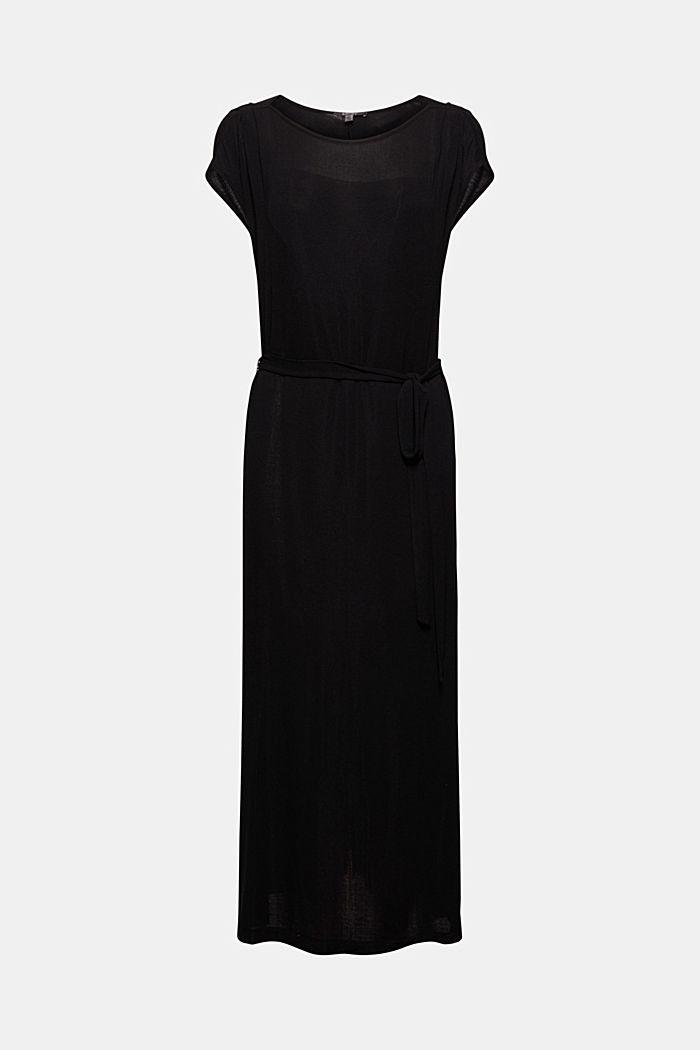 Jersey-Maxikleid aus LENZING™ ECOVERO™