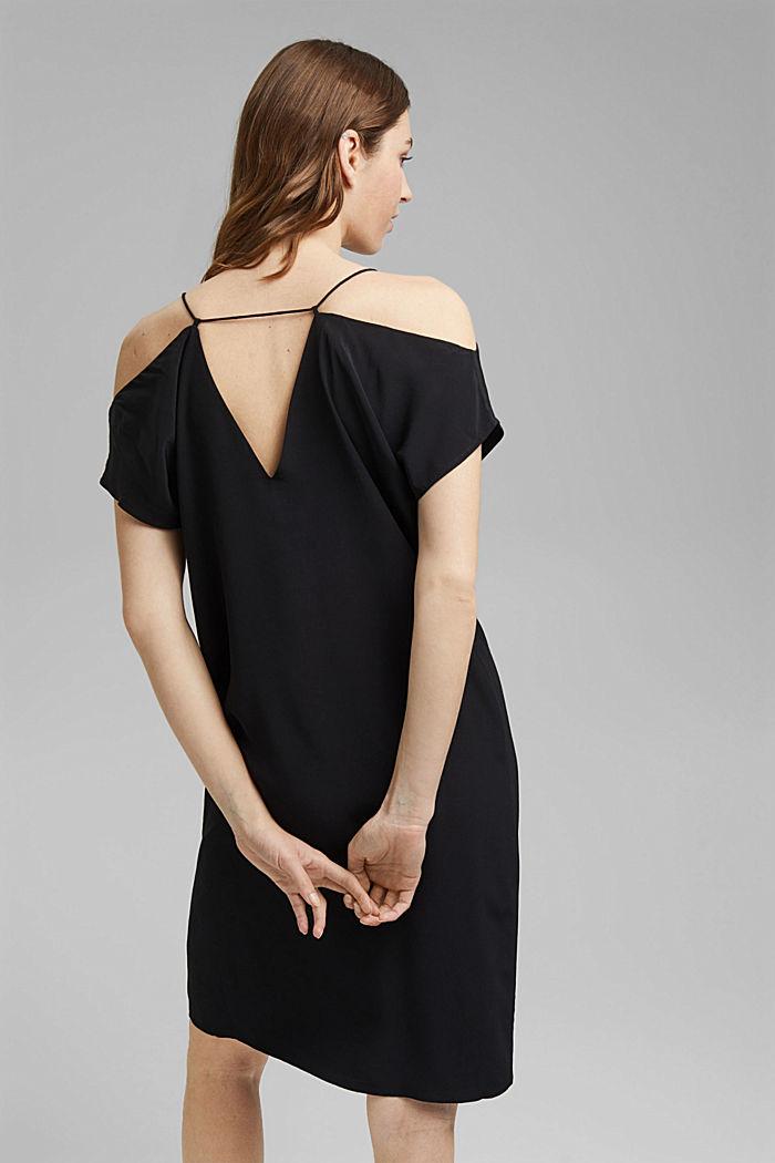 Dress with a Carmen neckline, BLACK, detail image number 2